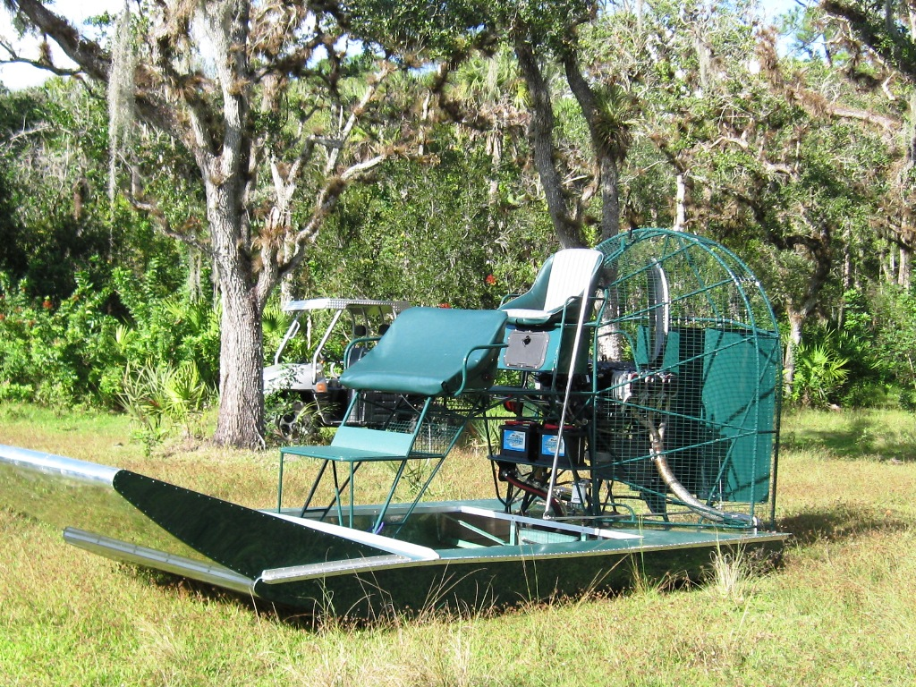 Airboat parts florida : Z rack